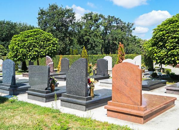 お墓 周辺